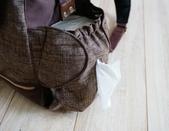 媽寶包:這個尿布造型的口袋可以抽衛生紙喔~超好用的~!