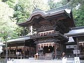 2008/06 日本長野旅遊 Japan Nagano:0806140826_下諏訪-諏訪大社下社秋宮幣拜殿側影_1.JPG