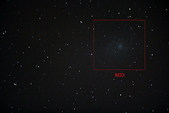 梅西爾星體標示:M033s