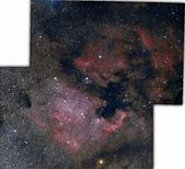2013/9/6 合歡山昆陽:北美星雲+鵜鵠星雲