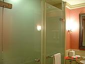 花蓮悅來:淋浴間和廁所
