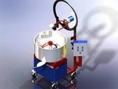 1.攪拌機:旋轉式混合機