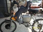 ※自行車兒童椅:年紀小時用