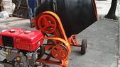 2.滾筒圓錐拌合機:柴油8HP混凝土攪拌機-引擎