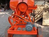 2.滾筒圓錐拌合機:混凝土攪拌機-側面
