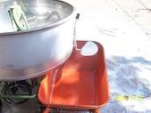 5.零件材料:水泥攪拌機洩料口