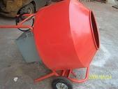 2.滾筒圓錐拌合機:小型滾筒水泥攪拌機
