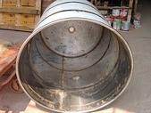 5.零件材料:加高攪拌筒