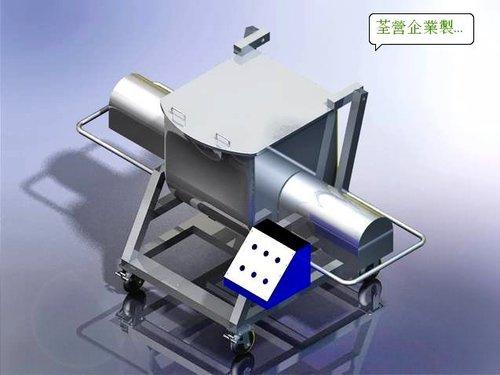 4.客製化-機台零件:臥式混合機