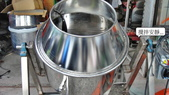 2.滾筒圓錐拌合機:電動食品攪拌機