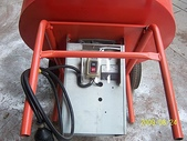 2.滾筒圓錐拌合機:小型滾筒水泥攪拌機-馬達