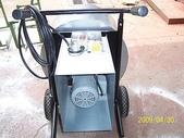 2.滾筒圓錐拌合機:小型圓錐式水泥攪拌機-馬達