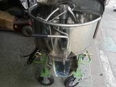1.攪拌機:小型600型白鐵攪拌機