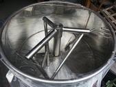 5.零件材料:1800mm白鐵攪拌桶