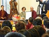 第三世多杰羌佛系列相關消息 :舊金山紐森市長代表Mr. GINO LAZZARA頒獎(恭迎『多杰羌佛第三