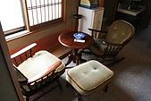 2008東北東京13天(1):窗邊的桌椅也很古老