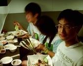 松山高中生物研究社20100424社展:社展後小聚餐
