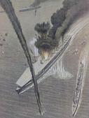 博物綜覽相簿:中途島海戰加賀號被擊沉重現圖(引自維基共享資源).jpg