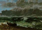 博物綜覽相簿:翻騰的大海(引用自視覺素養學習網網頁)