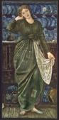 灰姑娘相關:Cinderella by Edward Burne-Jones 1863.jpg