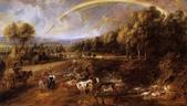 博物綜覽相簿:Peter Paul Rubens-Landscape with a Rainbow(引自維基共享資源).jpg