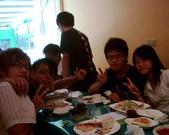 松山高中生研社創社20週年社慶聚餐照片:17th與18th的社員們