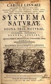 生態人:Systema Naturae(引自維基共享資源)