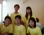 松山高中生研社創社20週年社慶聚餐照片:2009現任20th的社團幹部們