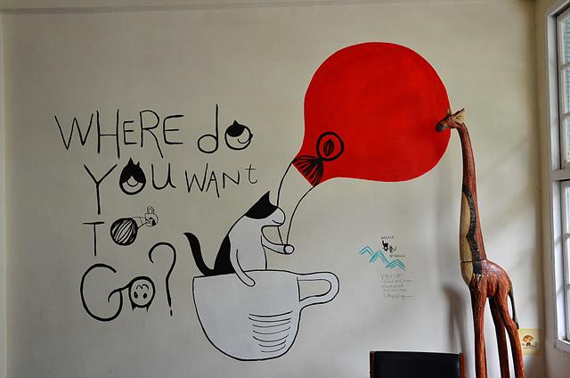 1073717319 l - 【台中北區】找路咖啡~小巷中懷舊復古風私房咖啡館~餐點選項多,環境靜謐且位置多,讀書聚會場地推薦,近中國醫學大學