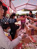漢光蔬菜愛心義賣活動:蒸栗子好吃ㄛ一下就賣完了