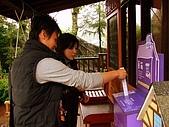 20090314~15三女一男之大吃大喝台中遊記:會自動在票根上噴上薰衣草香氛~