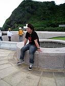 我在綠島天氣晴Day2:拜咖榮坐著想著下一步怎麼走
