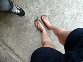我在綠島天氣晴Day2:我的千拖仔鞋壞了....