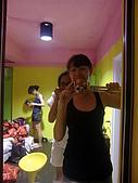 我在綠島天氣晴Day2:我的自拍加扣卡躲後面還有巧韻的身影