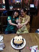 100516十元生日:二個硬是要拍臉小的照片
