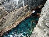 我在綠島天氣晴Day2:水真的超乾淨,好想往下跳~