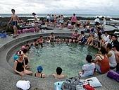 我在綠島天氣晴Day2:這麼多人起個大早泡湯
