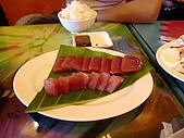 我在綠島天氣晴Day2:生魚片~