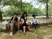 100502江南渡假村:阿姨和他的二個兒子