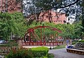 新竹市街景:新竹護城河暨親水公園一隅