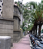 新竹市街景:新竹北大教堂外