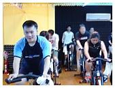 于老師要騎【鐵馬】教課囉VS健身房飛輪朋友080527上傳:我不常聯絡的乾弟弟小克