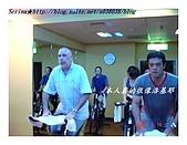 于老師要騎【鐵馬】教課囉VS健身房飛輪朋友080527上傳:本人某些角度超像洛基的