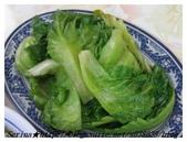 台北師大路最正港的【正宗客家魷魚羹】:什麼都不加的原味清燙青菜