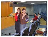 台中朝陽科技大學演講:趁教授致詞我先搶鏡頭啦