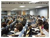 台中朝陽科技大學演講:還是那麼專心聽呀!了不起~~