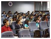 台中朝陽科技大學演講:連鄧教授也聽的津津有味哩