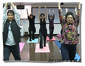 搏感情的正聲聽友瑜珈班(第一期):多整齊呀