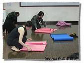 搏感情的正聲聽友瑜珈班(第一期):下課囉!我們都會收好墊子放回去
