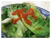 台北師大路最正港的【正宗客家魷魚羹】:原味燙青菜加辣椒真會讓人大流口水呀